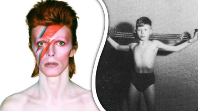 Mladý David Bowie