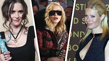 Madonna, Winona Ryder a Gwyneth Paltrow asi společně na mejdan nevyrazí...
