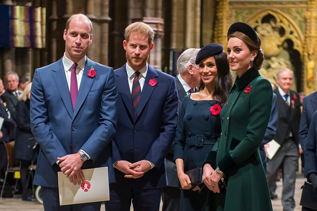 Princ Harry a princ William