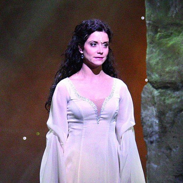 Lucie Šoralová dostala v muzikálu hlavní roli Marianny.