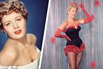 Umužů měla rozverná herečka vždy velký úspěch.