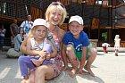 Klára Cibulková s dětmi
