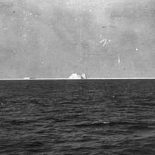 Ledovec, který může za potopení Titanicu.