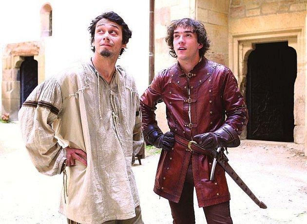 Hrát sPavlem Liškou je úžasná zkušenost, pochvaloval si princ Matouš Ruml.