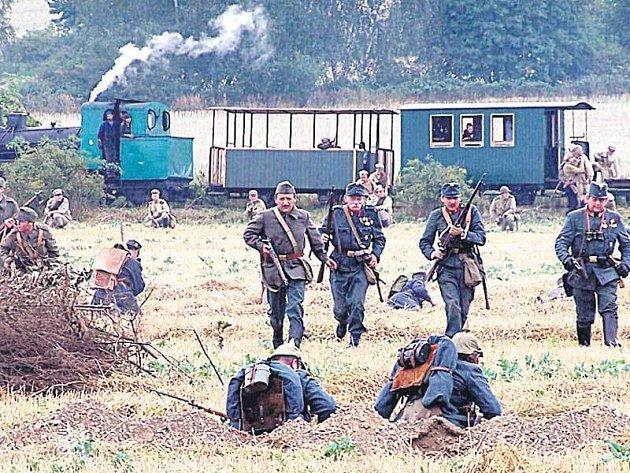 Okolí se u Moravské Třebové přeneslo do roku 1915, kdy se odehrála bitva první světové války.