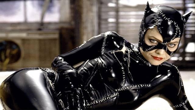V latexovém oblečku Catwoman z Batman se vrací (1992)