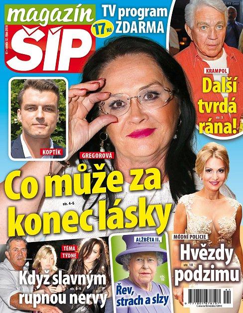 Titulní strana Magazínu Šíp 12.10.2016