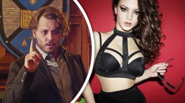Polina Glen a Johnny Depp