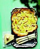 Křenová tortilla a chřestový koláč