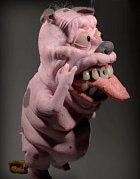 Živoucí Courge the Cowardly Dog. Děsivější než kreslený.