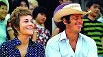 Vkomedii Muž, který se mi líbí (1969) byl jejím kolegou Jean-Paul Belmondo.