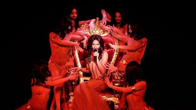 Conchita Wurstˇ- vítězka poslední Eurovize