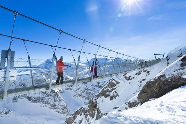 Titlis Cliff Walk, Švýcarsko