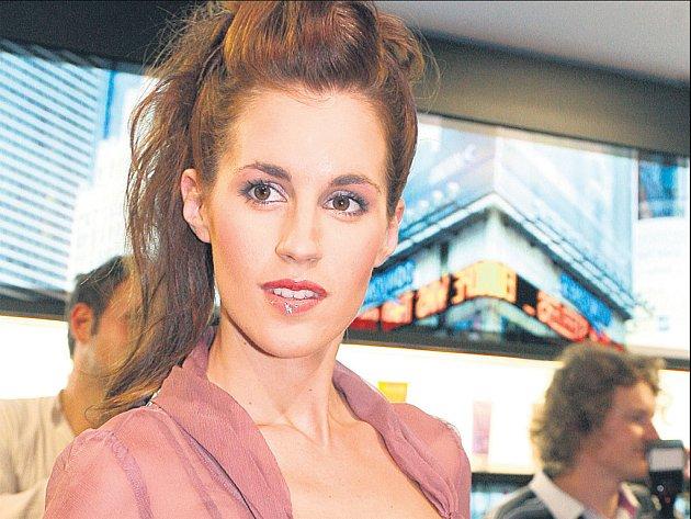 Miss ČR 2003 Lucie Váchová
