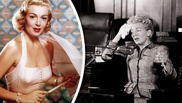Lana Turner podala životní herecký výkon u soudu, kde dceru dostala z vraždy.