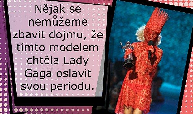 Lady Gaga a její nejšílenější modely.