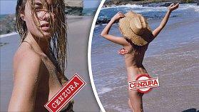 Camille ukazuje, že oblečení je naprosto zbytečný trend, co tělo jenom hyzdí.