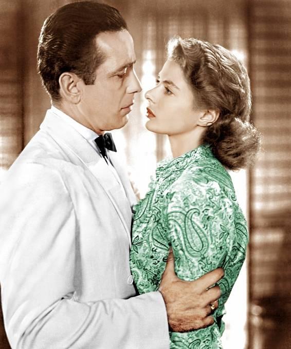 SHumphreym Bogartem vhitu Casablanca (1942)