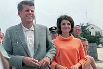 JFK s manželkou Jackie.