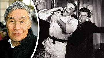 Peter Sellers sBurtem. Ani jeden karate neuměl, ale jejich bitky jsou nezapomenutelné.