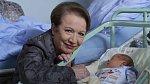 Hana Maciuchová s miminkem