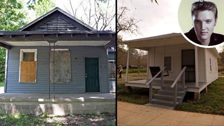 Slavní a domy, kde vyrůstali