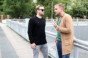 Libor Bouček a Jakub Prachař