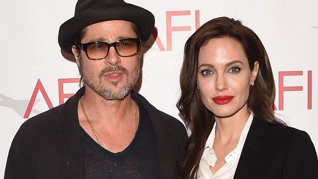 Brad Pitt a Angelina Jolie