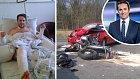 Nehoda Tomáše Hauptvogela vypadala dost děsivě...