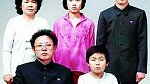 Kim Jong-un na rodinné fotce