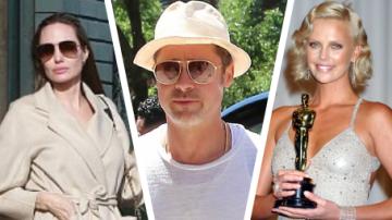 Charlize Theron, Angelina Jolie a Brad Pitt