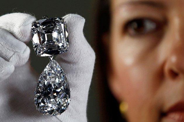 Diamant Královna Alžběta