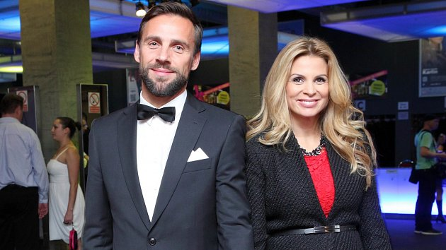 Roman Vojtek s manželkou