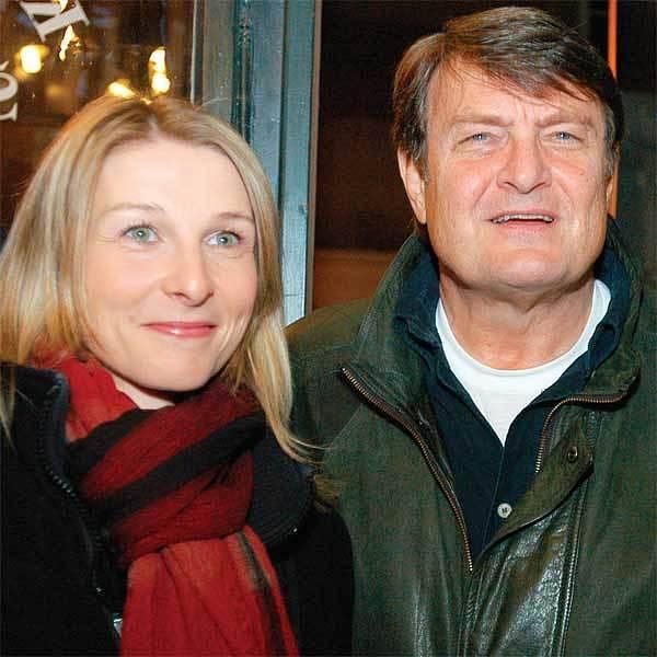 Ladislav Štaidl s přítelkyní Michaelou Novotnou. Právě ona hodila Bartošové Arturovy věci přes plot.