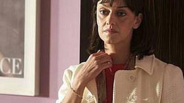 Tereza Brodská na snímku v seriálu Dokonalý svět