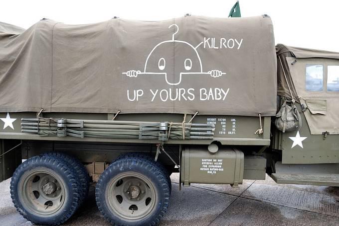 Panáček jezdí aamerickými vojáky dodnes.