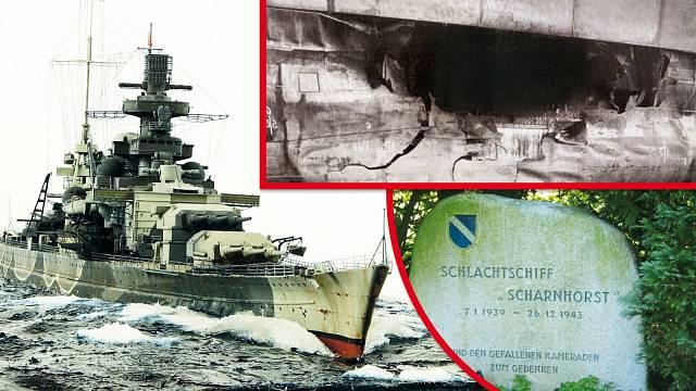 Křižník Scharnhorst provázela neuvěřitelná smůla.
