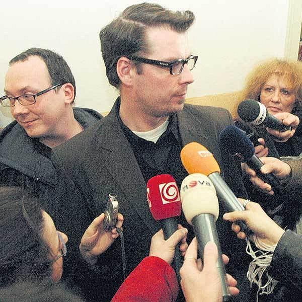 Člen skupiny Ztohoven David Brutňák.