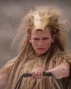 Bílou čarodějnici hrála Tilda Swinton.