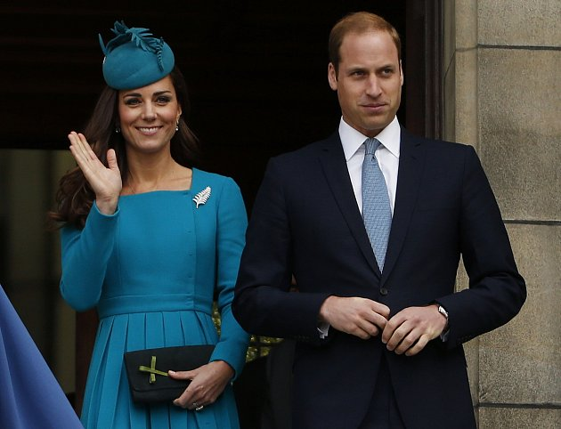 Princ William a Kate Middletonová