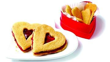 Malinové sušenky