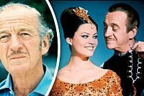 Jako zloděj vRůžovém panterovi (1963) okouzlil iClaudii Cardinaleovou.