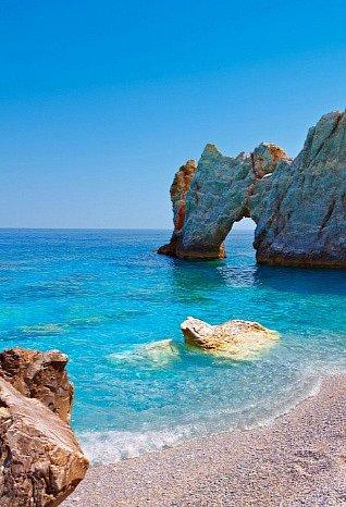 Jedna znejkrásnějších pláží Lalaria.