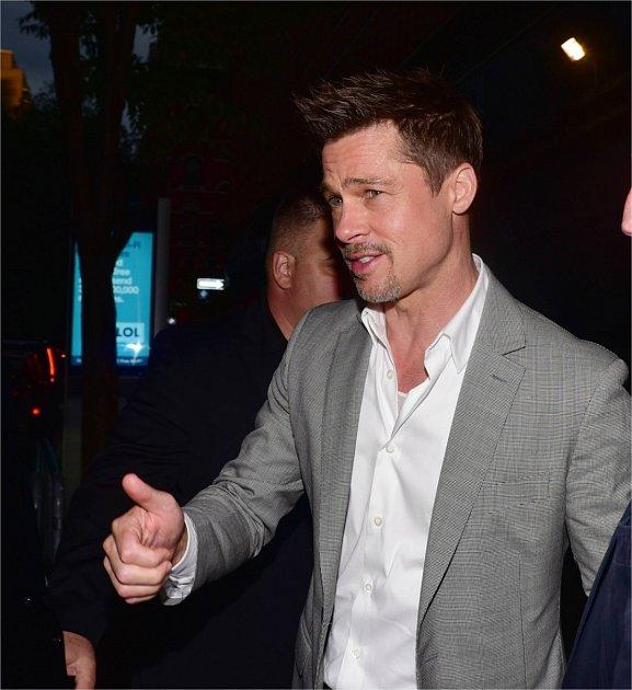 Brad Pitt dává všechno do pořádku!