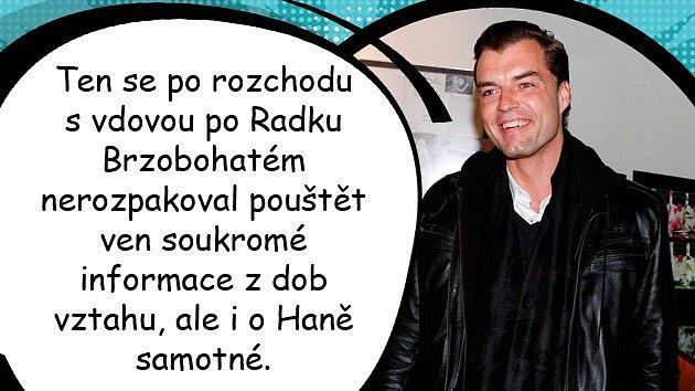 Hana Gregorová se na Česko - Slovenském plese objevila vdoprovodu tajemného mladého muže.