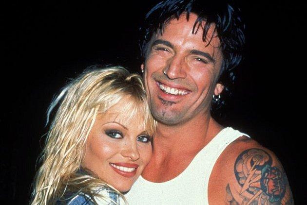 Pamela Anderson a Tommy Lee