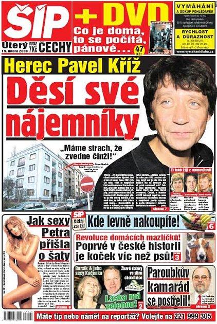 Titulka 19. 2. 2008
