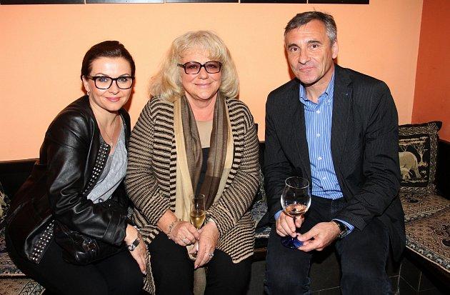 Dana Morávková, Iva Hüttnerová a Jan Čenský