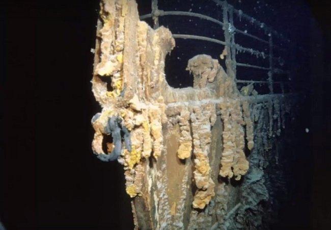 Příď Titanicu.