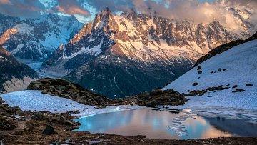 I v Chamonix najdete úchvatná místa...